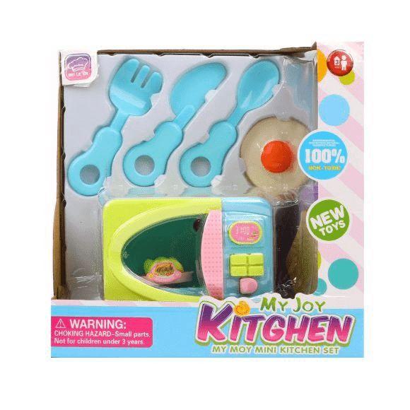 Купить Микроволновая печь с аксессуарами Наша Игрушка 7 предметов, Наша игрушка, Детская кухня