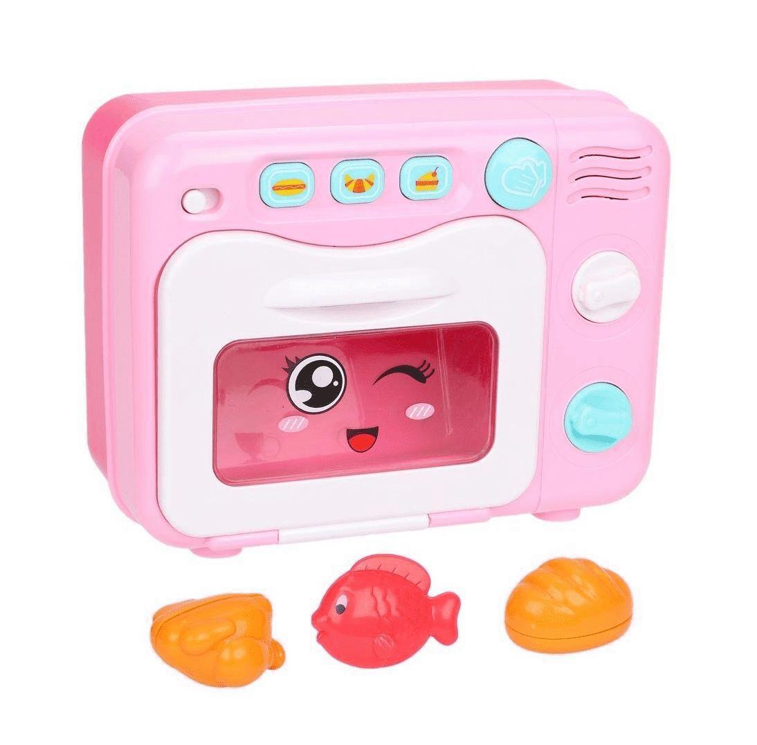 Купить Микроволновая печь 4 предмета Наша Игрушка, Наша игрушка, Детская кухня