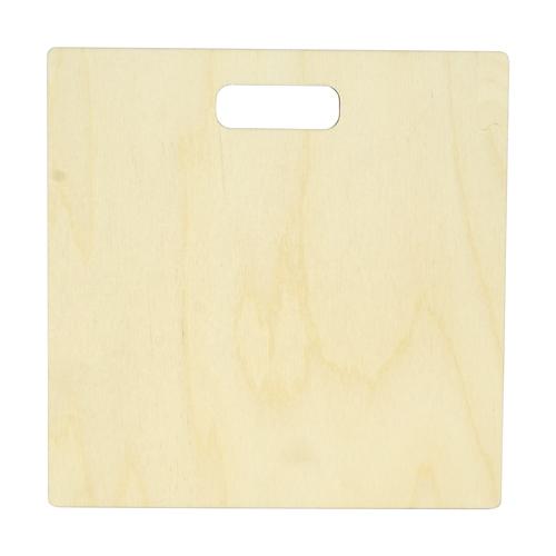 Купить L-370 Деревянная заготовка Астра Доска, 25х25 см, Рукоделие