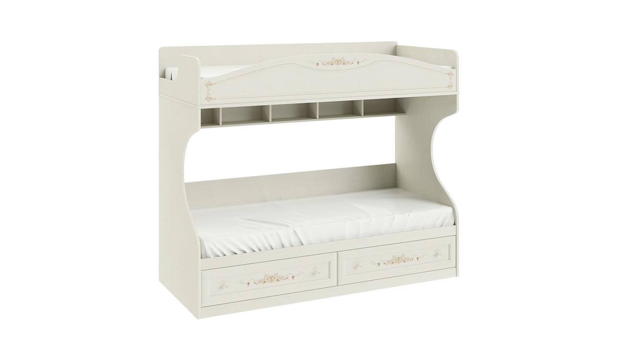 Двухъярусная кровать (без лестницы) Трия «Лючия»