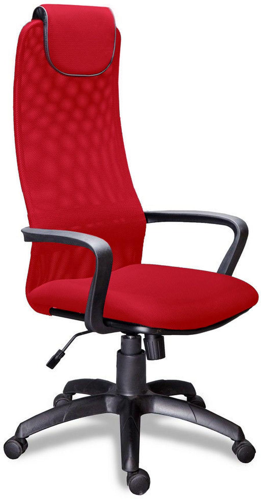 Компьютерное кресло Фокс PL/Ткань сетка красная