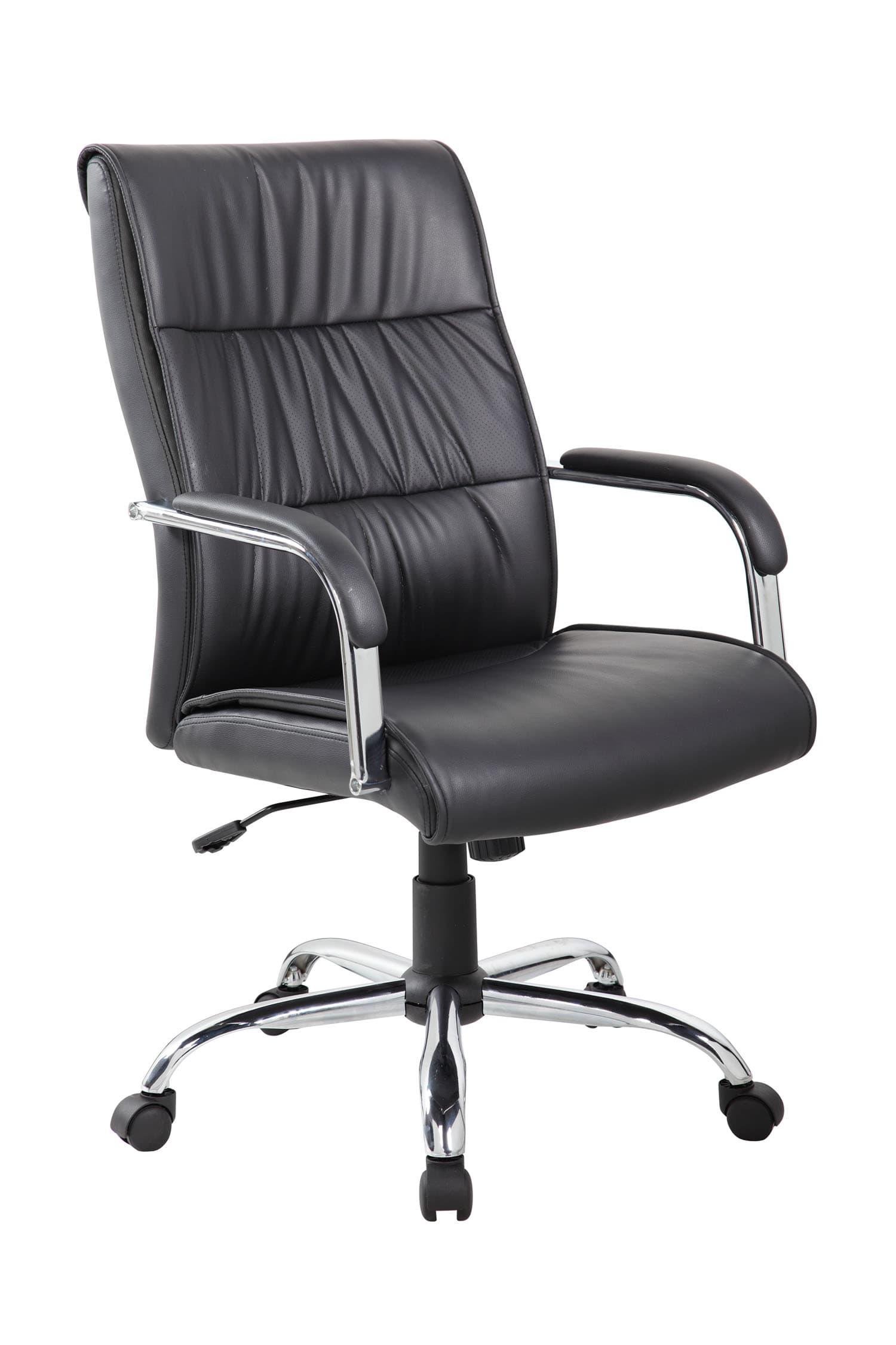 Компьютерное кресло RCH 9249 1/Черная экокожа
