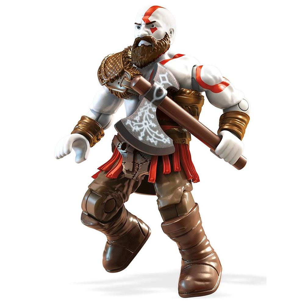 Подвижная фигурка Mega Construx God of War Кратос, 19 деталей фото