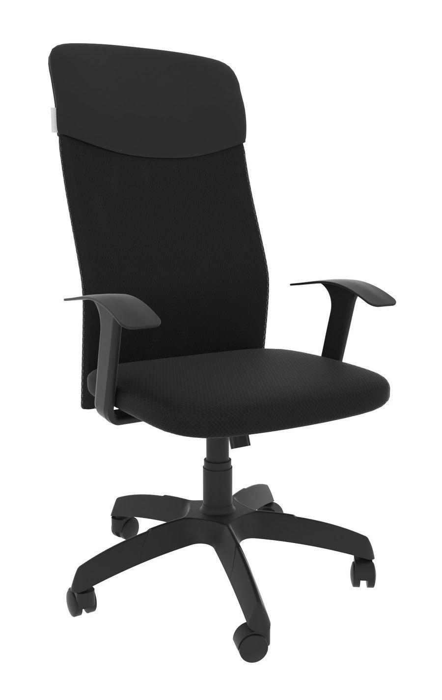 Офисное кресло Leo A black/Ткань сетка чёрная
