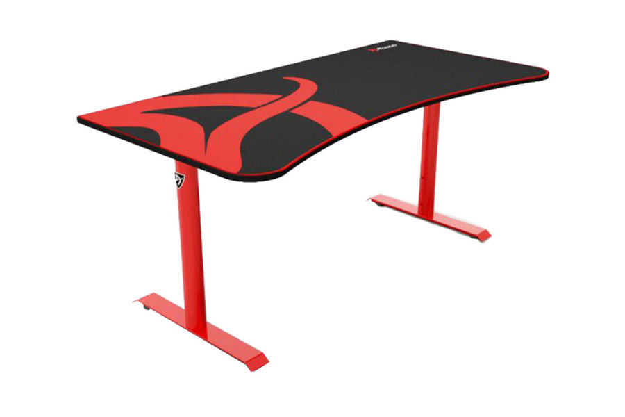 Компьютерный стол Arozzi Arena Gaming Desk/Черно красный