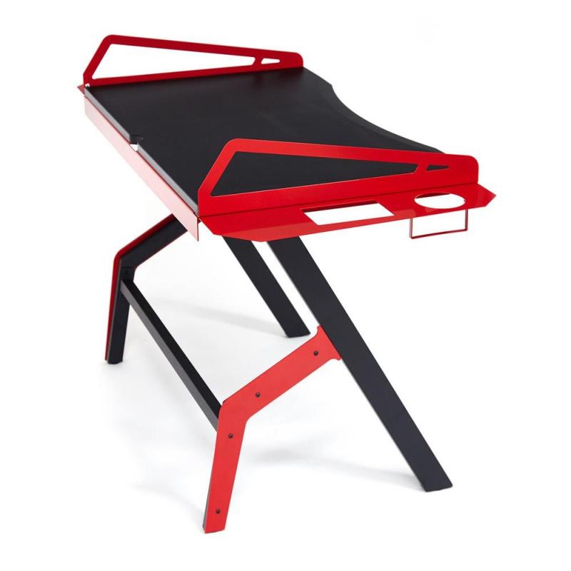 Компьютерный стол Cyber 3/Черно красный