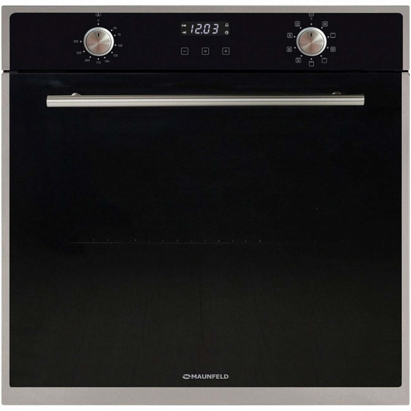 Встраиваемый электрический духовой шкаф Maunfeld EOEM.769S2B Black