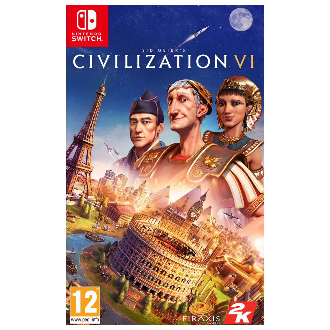 Игра Sid Meier's Civilization VI для Nintendo Switch фото