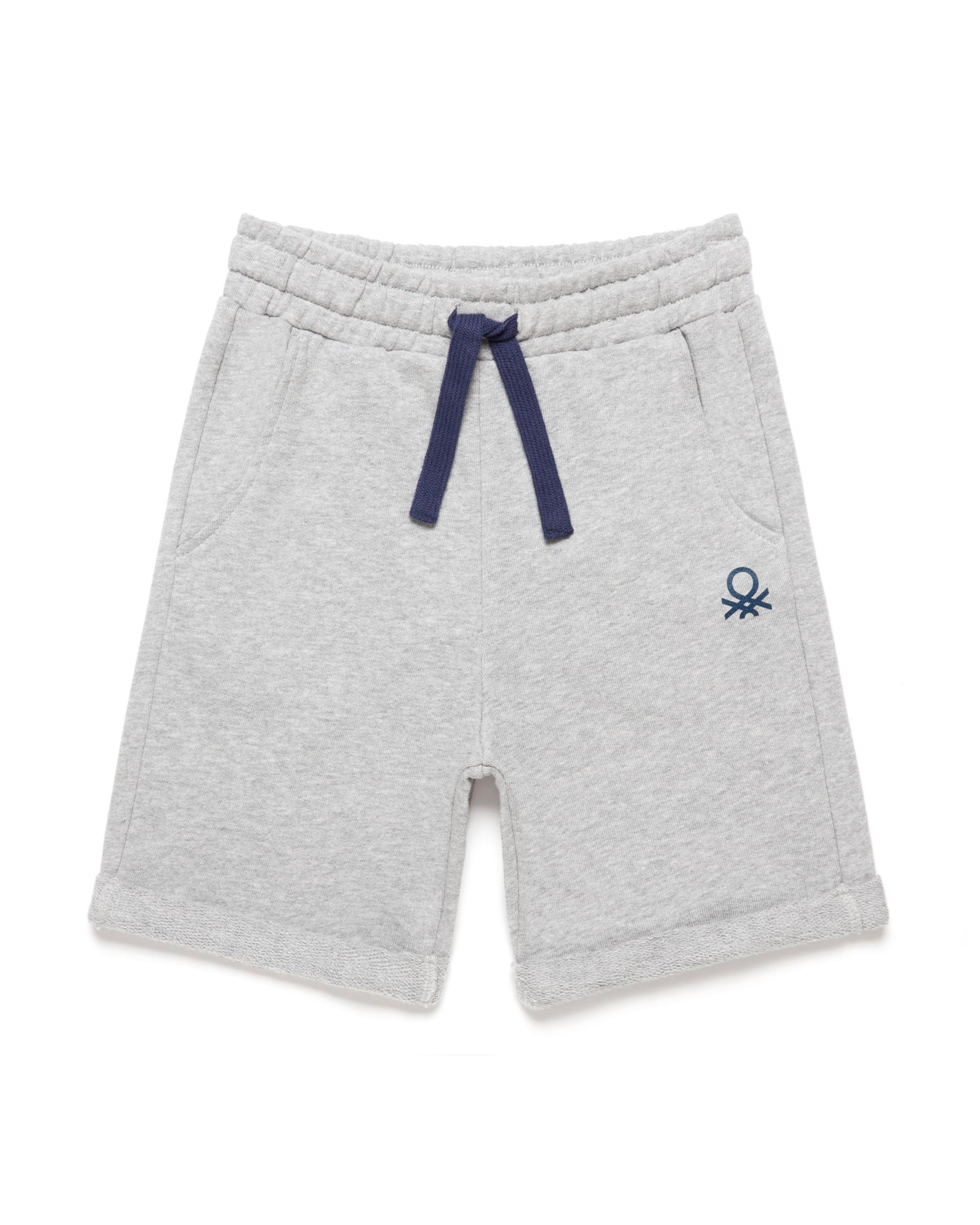 Купить 20P_3J68I0638_501, Спортивные шорты для мальчиков Benetton 3J68I0638_501 р-р 80, United Colors of Benetton, Шорты и брюки для новорожденных