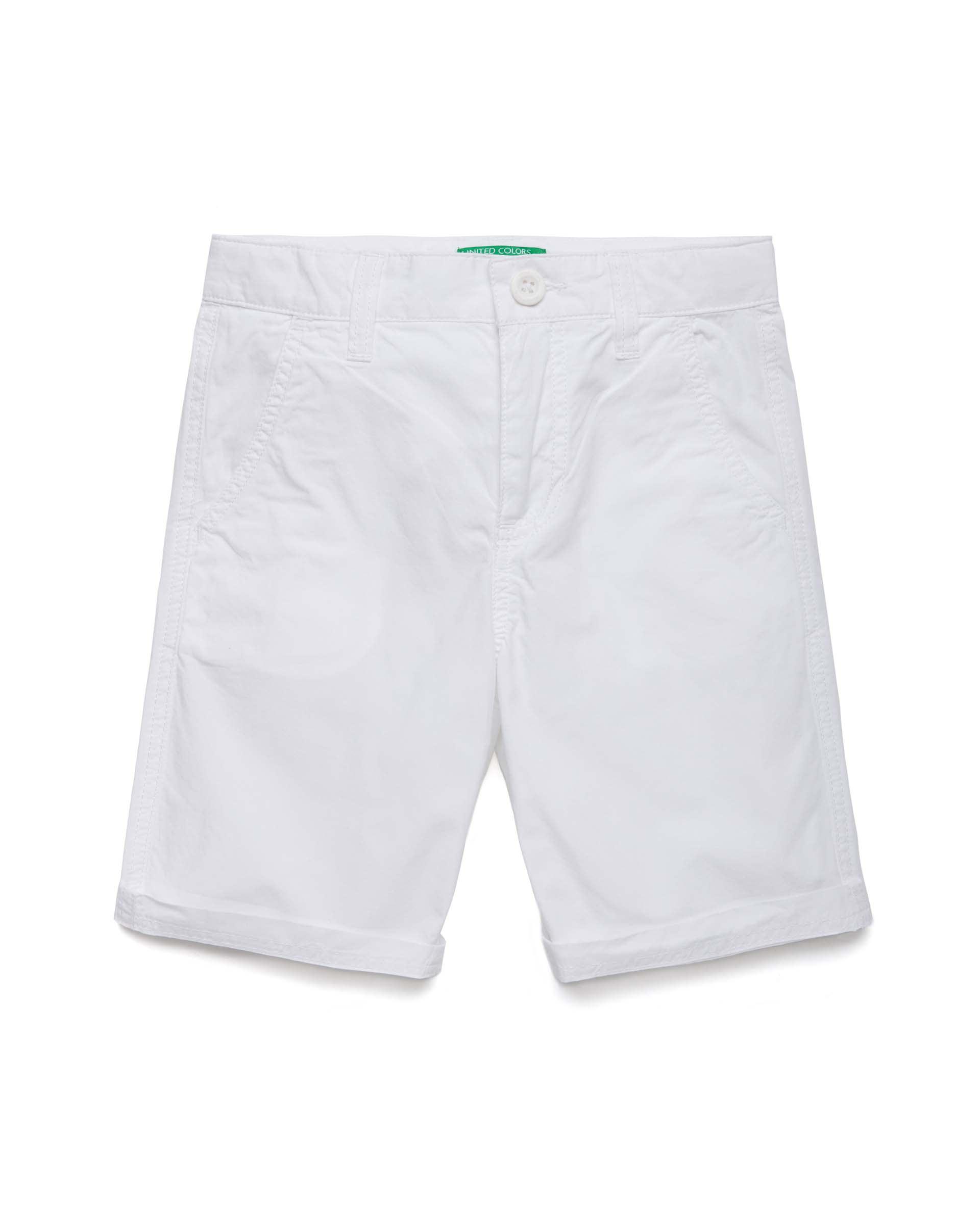 Купить 20P_4AC759270_101, Шорты для мальчиков Benetton 4AC759270_101 р-р 140, United Colors of Benetton