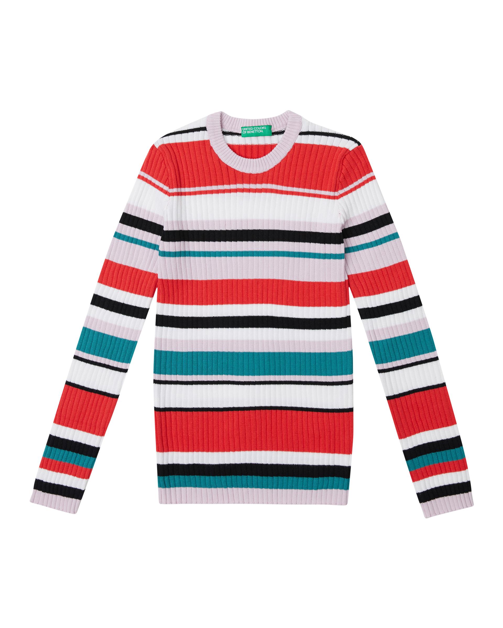 Купить 20P_1098Q1896_901, Джемпер для девочек Benetton 1098Q1896_901 р-р 140, United Colors of Benetton, Джемперы для девочек