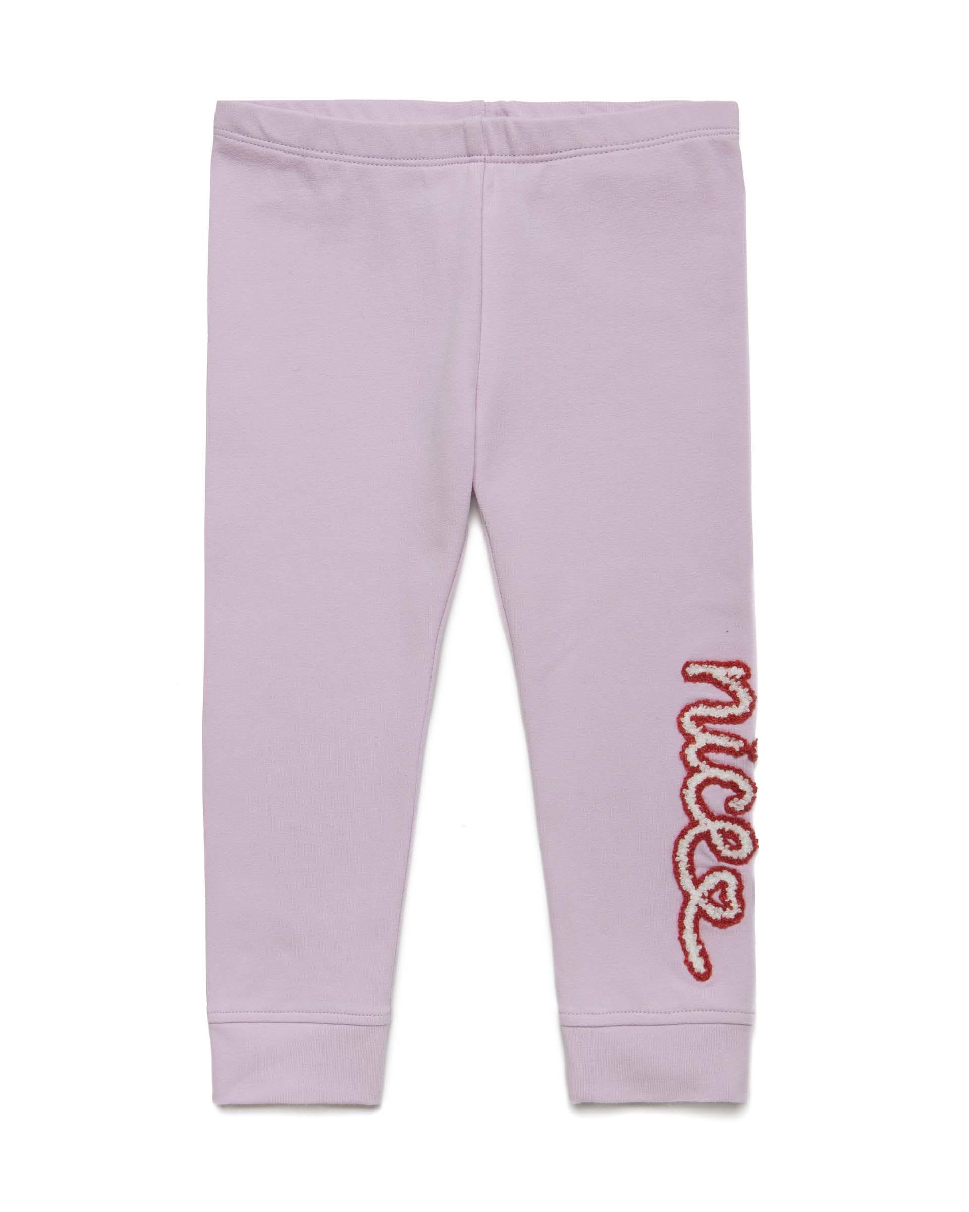 Купить 20P_3CY4I02EP_07M, Спортивные брюки для девочек Benetton 3CY4I02EP_07M р-р 80, United Colors of Benetton, Шорты и брюки для новорожденных
