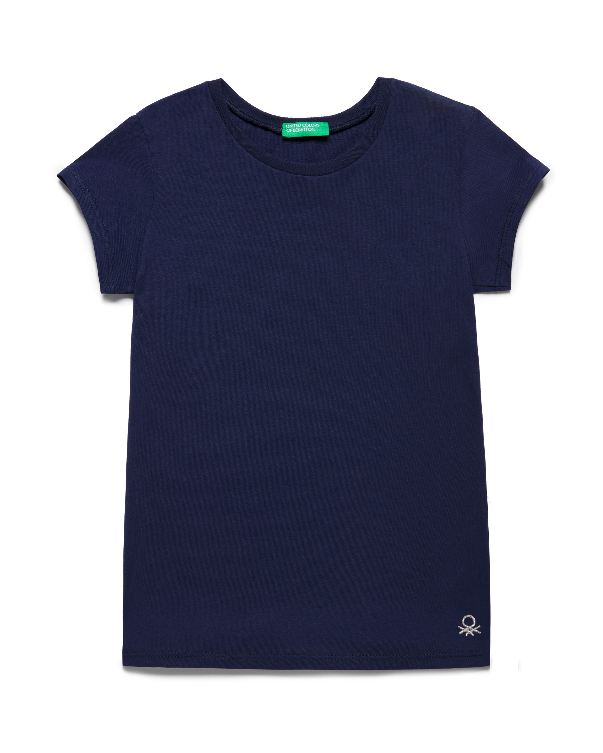 Купить 20P_3I1XC13J1_252, Футболка для девочек Benetton 3I1XC13J1_252 р-р 80, United Colors of Benetton, Кофточки, футболки для новорожденных