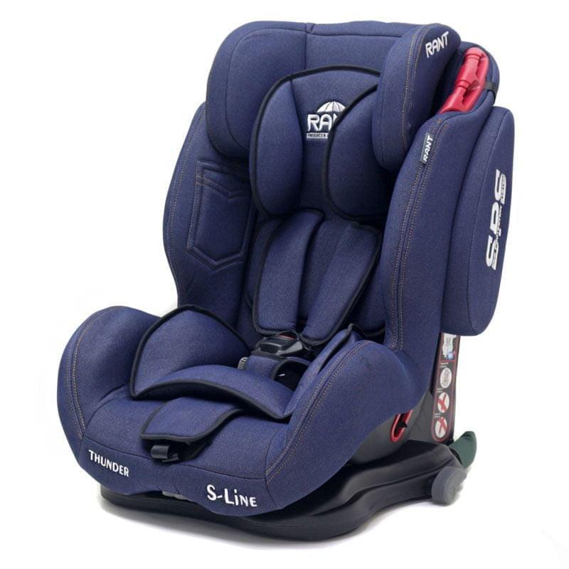 Автокресло Rant Thunder Ultra isofix SPS blue jeans группа 1/2/3 (9-36 кг)