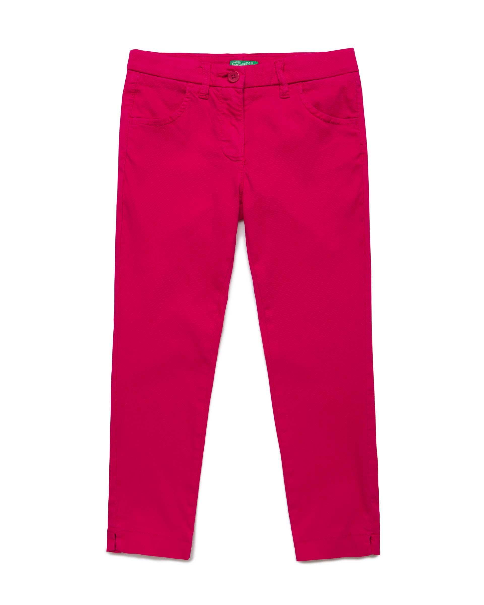 Купить 20P_4CDR57LN0_2L3, Брюки для девочек Benetton 4CDR57LN0_2L3 р-р 140, United Colors of Benetton