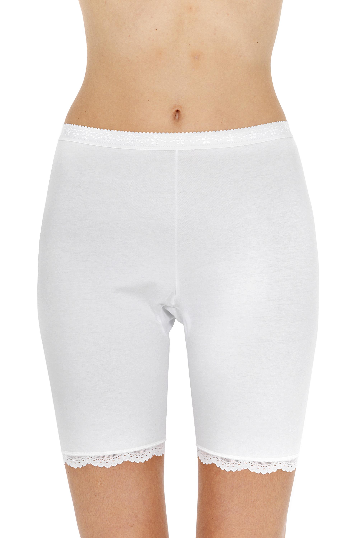 Панталоны женские Pompea ANTISFRE.PIZZO белые 7/XXXL