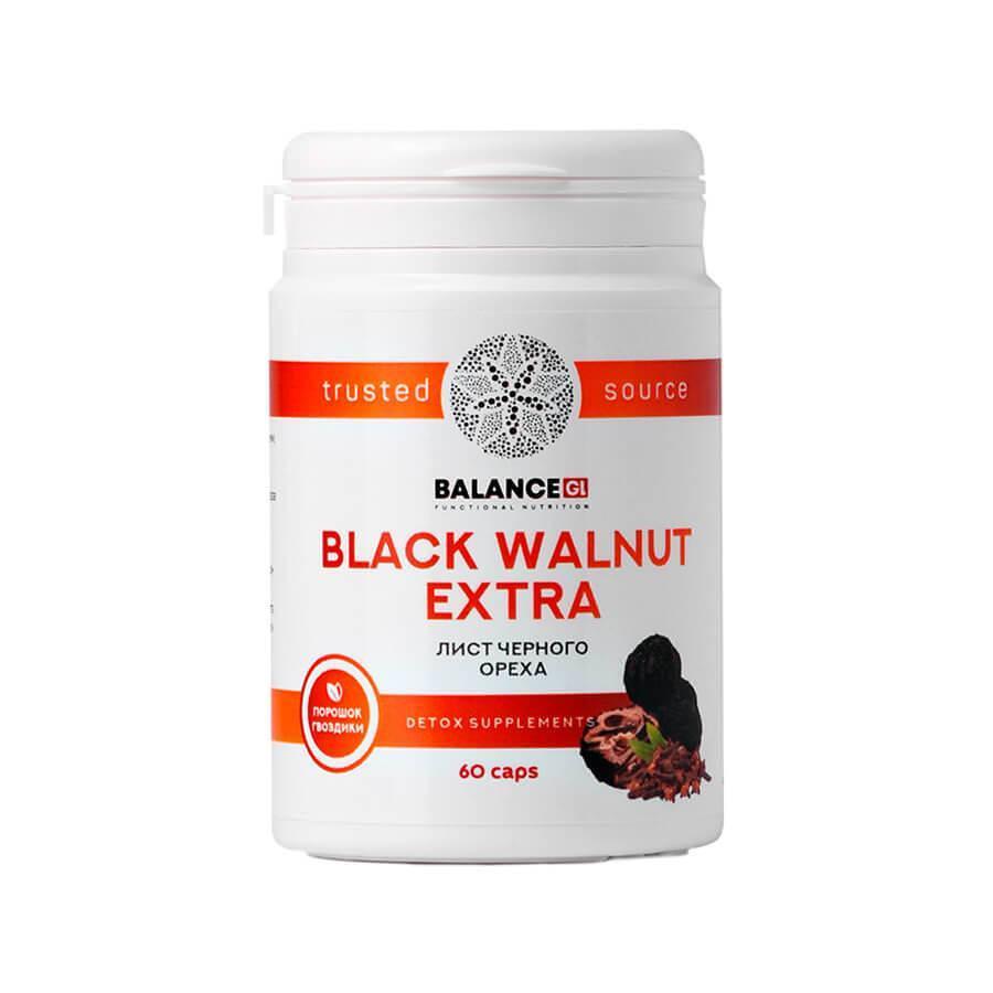 Черный Орех Экстра Balance Group Life Black Walnut Extra капсулы 60 шт.
