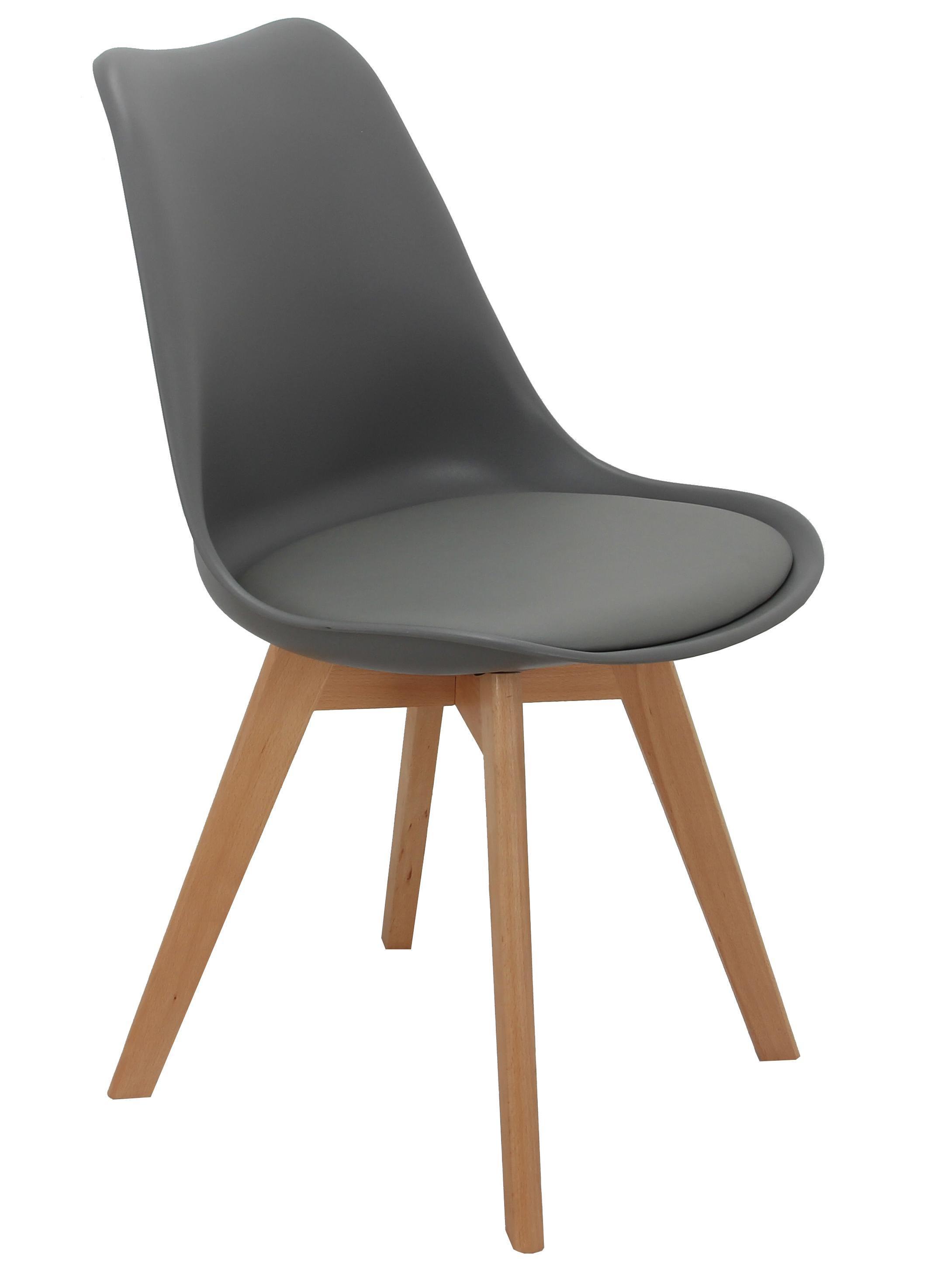 Стул Bradex Home Eames Bon серый /FR 0025