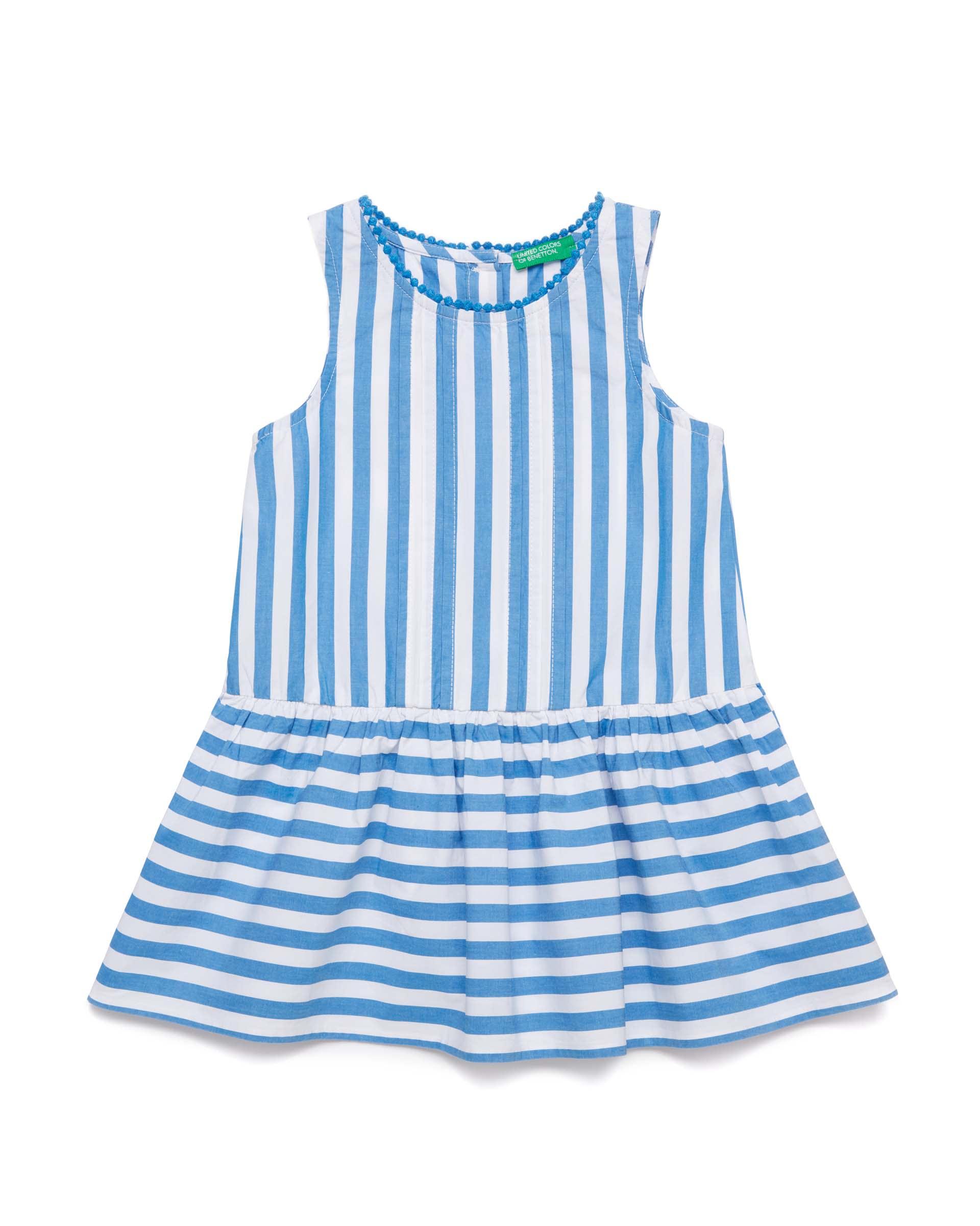 Купить 20P_4OT75V2LP_901, Платье для девочек Benetton 4OT75V2LP_901 р-р 80, United Colors of Benetton, Платья для новорожденных