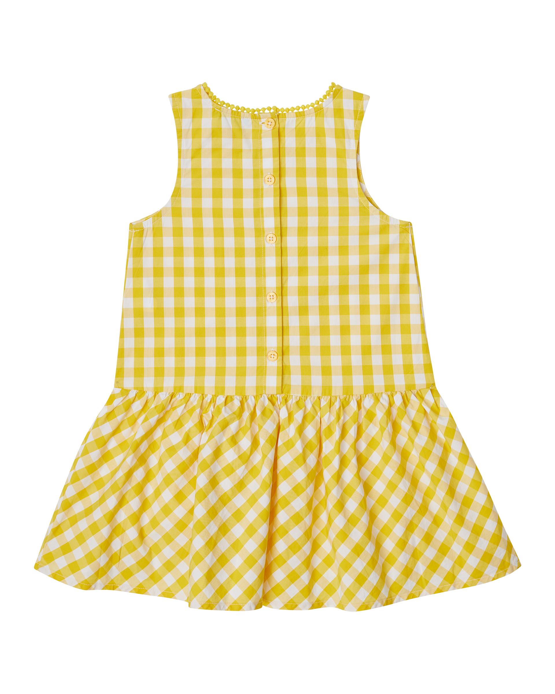 Купить 20P_4OT75V2LP_930, Платье для девочек Benetton 4OT75V2LP_930 р-р 92, United Colors of Benetton, Платья для новорожденных
