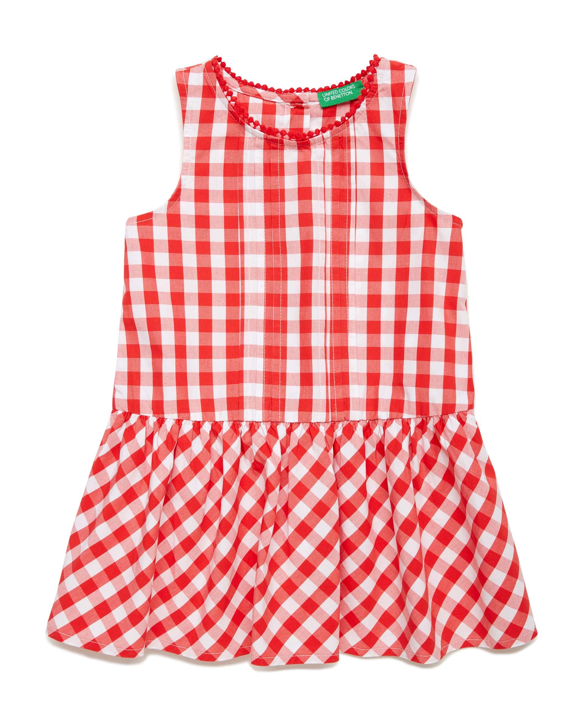 Купить 20P_4OT75V2LP_931, Платье для девочек Benetton 4OT75V2LP_931 р-р 80, United Colors of Benetton, Платья для новорожденных