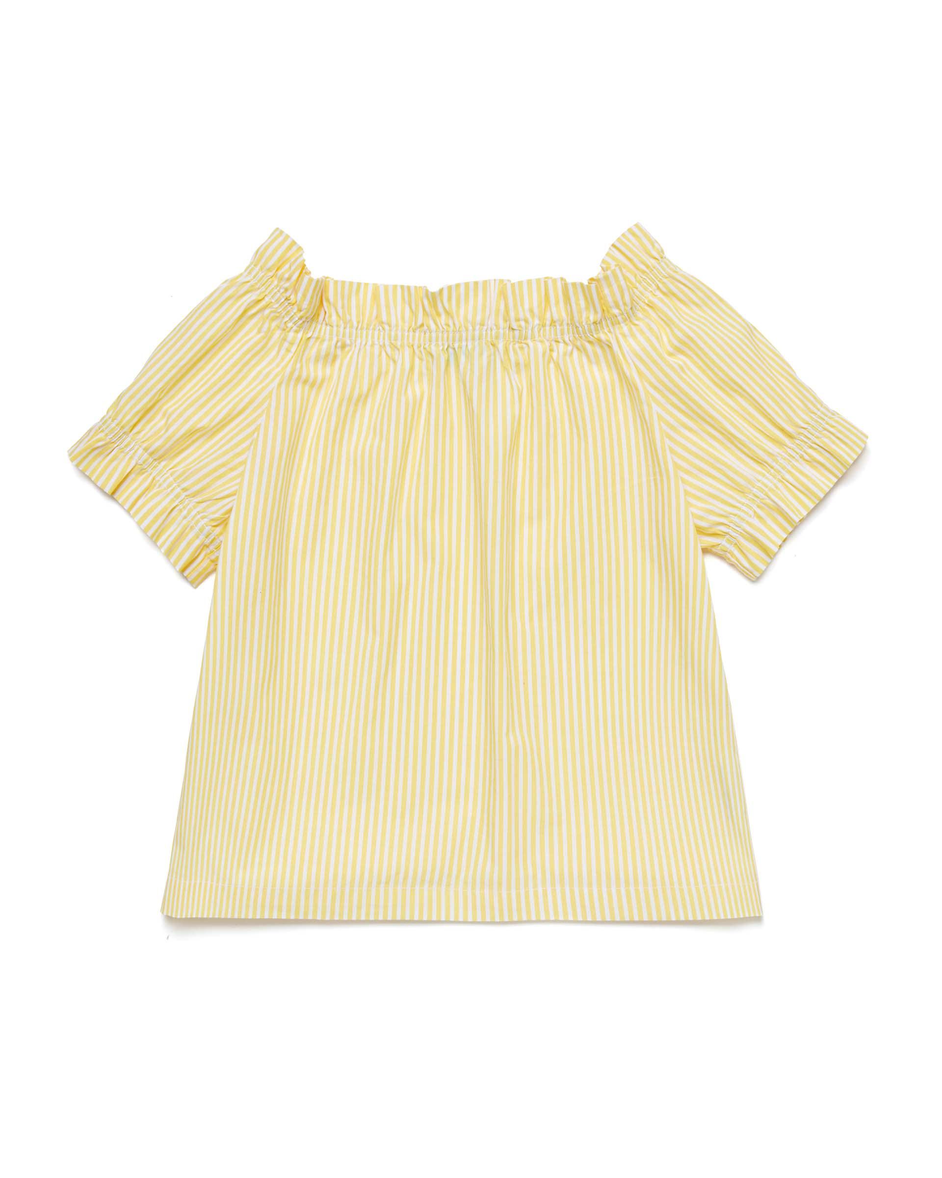 Купить 20P_5OT65QH40_902, Блуза для девочек Benetton 5OT65QH40_902 р-р 122, United Colors of Benetton, Блузки для девочек