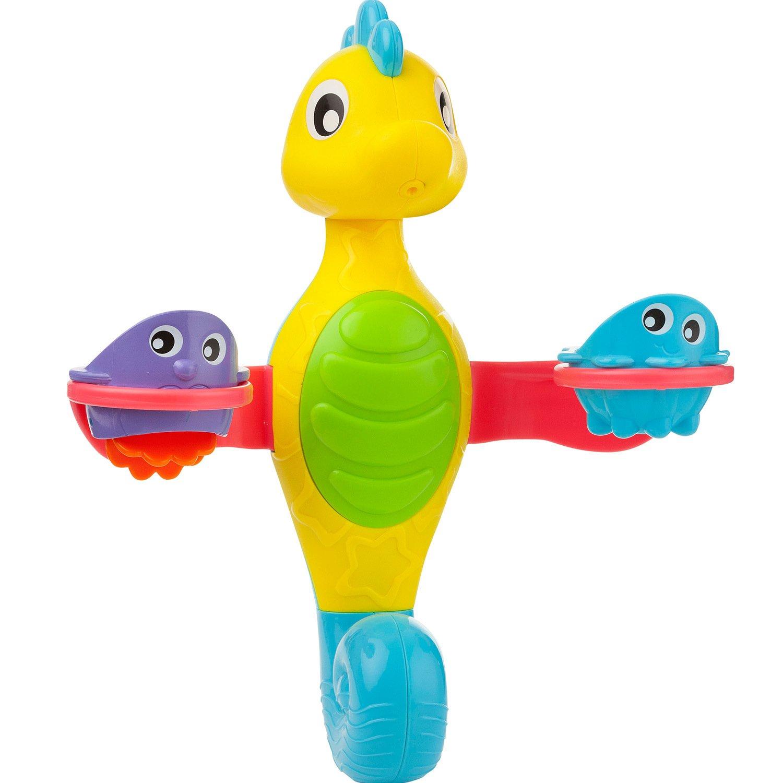Купить Игрушка для ванной Playgro Фонтанчик, Морской конек, Игрушки для купания