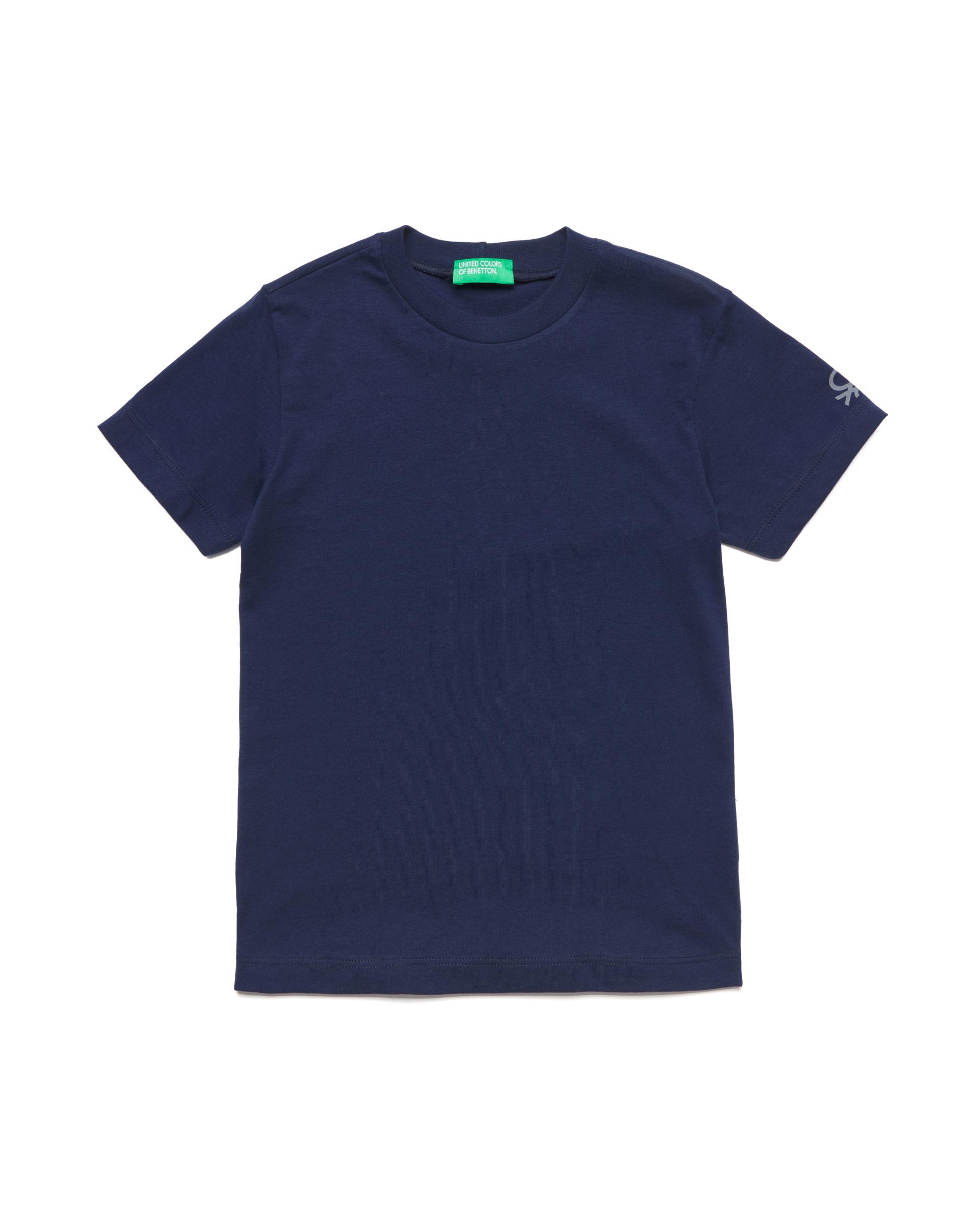 Купить 20P_3I1XC13E1_252, Футболка для мальчиков Benetton 3I1XC13E1_252 р-р 80, United Colors of Benetton, Кофточки, футболки для новорожденных