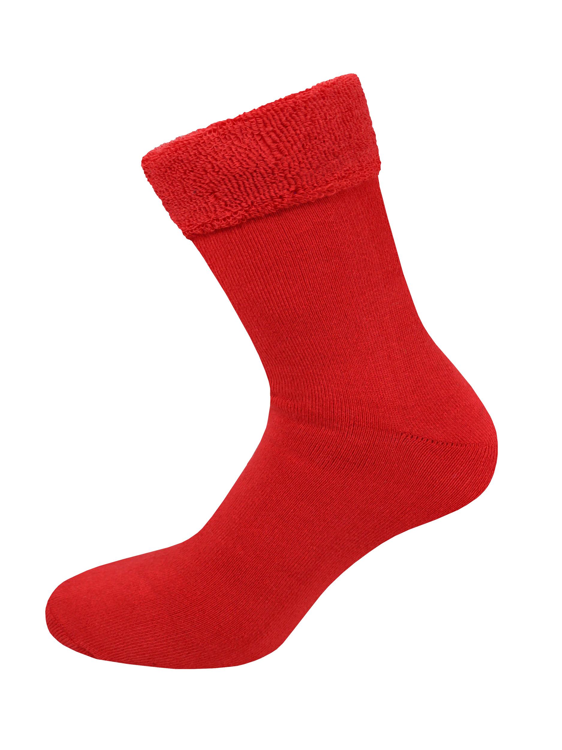 Носки мужские LUI MN 9119 угги красные