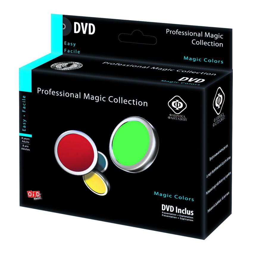 Набор для фокусов Волшебные цвета, с обучающим