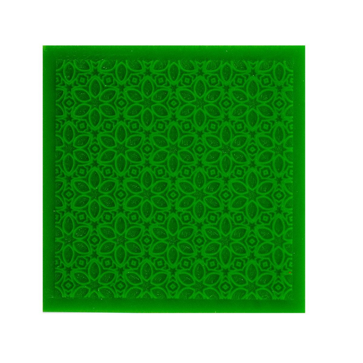 Коврик текстурный Астра Цветочки, 90х90х29 мм