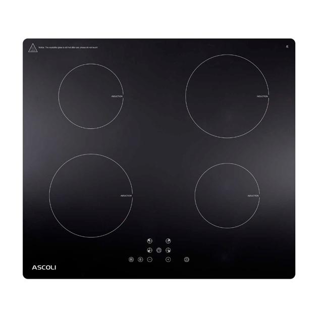 Встраиваемая индукционная панель Ascoli HI604-32AB Black.