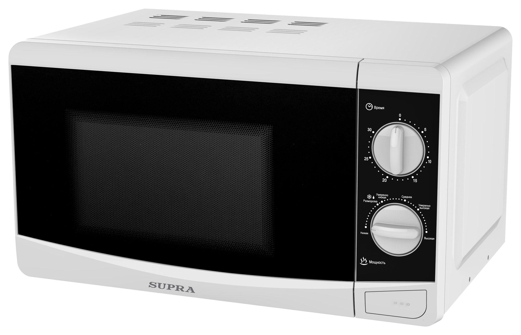 Микроволновая печь соло Supra 20MW35 White