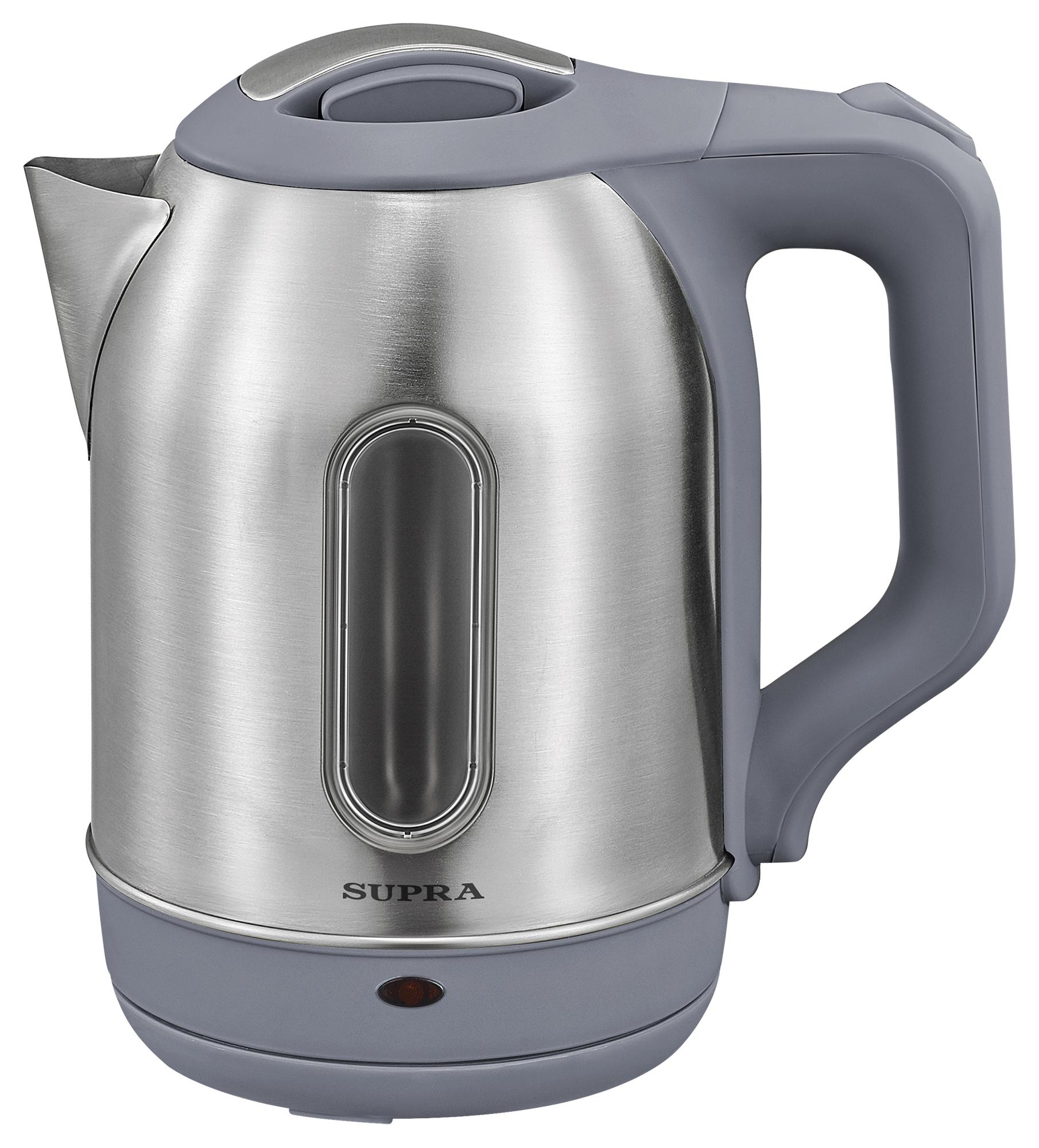 Чайник электрический Supra KES 1808SW Silver/Black