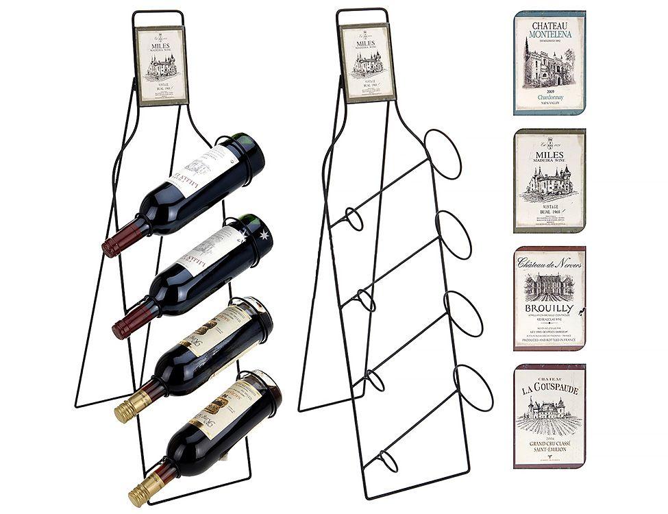 Подставка для бутылок винная коллекция, 77х21