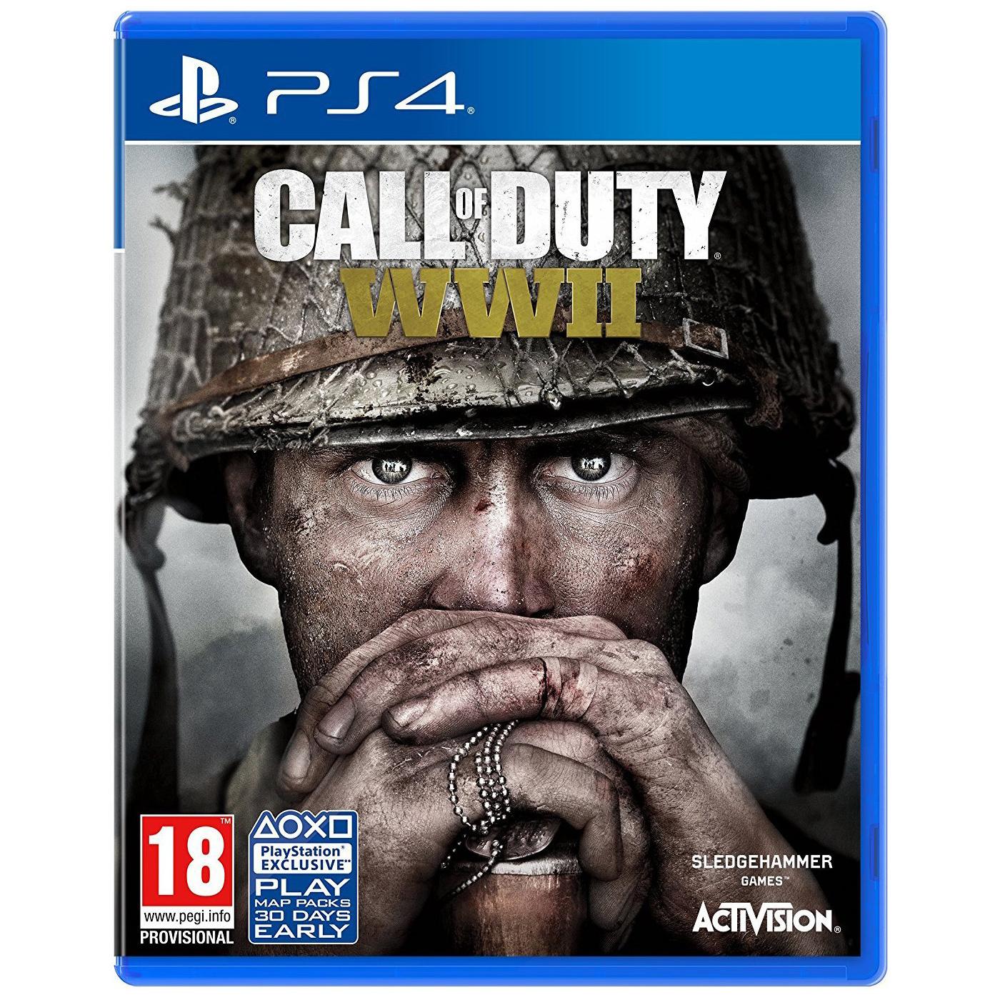 Игра Call of Duty: WWII для PlayStation