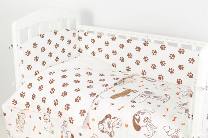 Комплект в кроватку Топотушки Фантазия лапки собачки