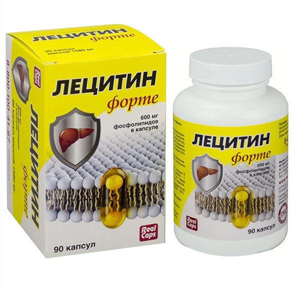 Лецитин Форте РеалКапс капсулы 30 шт.