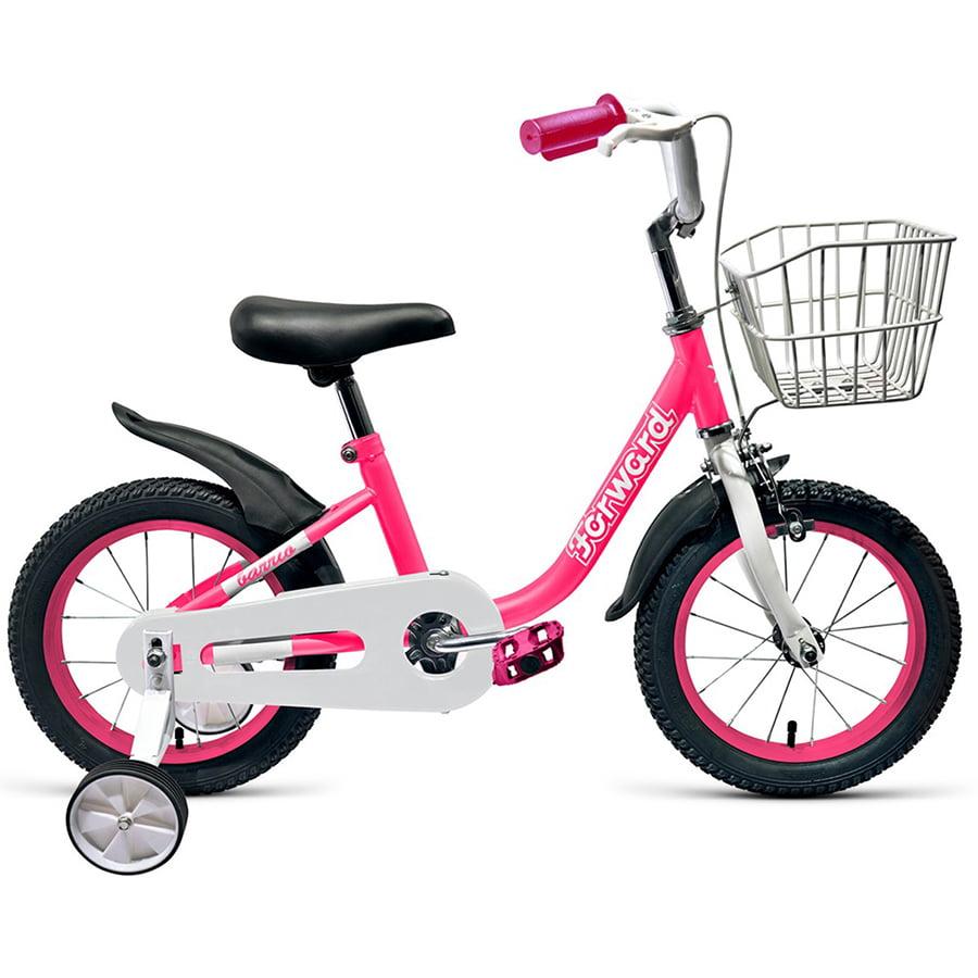 """Велосипед 14"""" Forward Barrio 18-19 г Розовый/RBKW9LNF1021"""