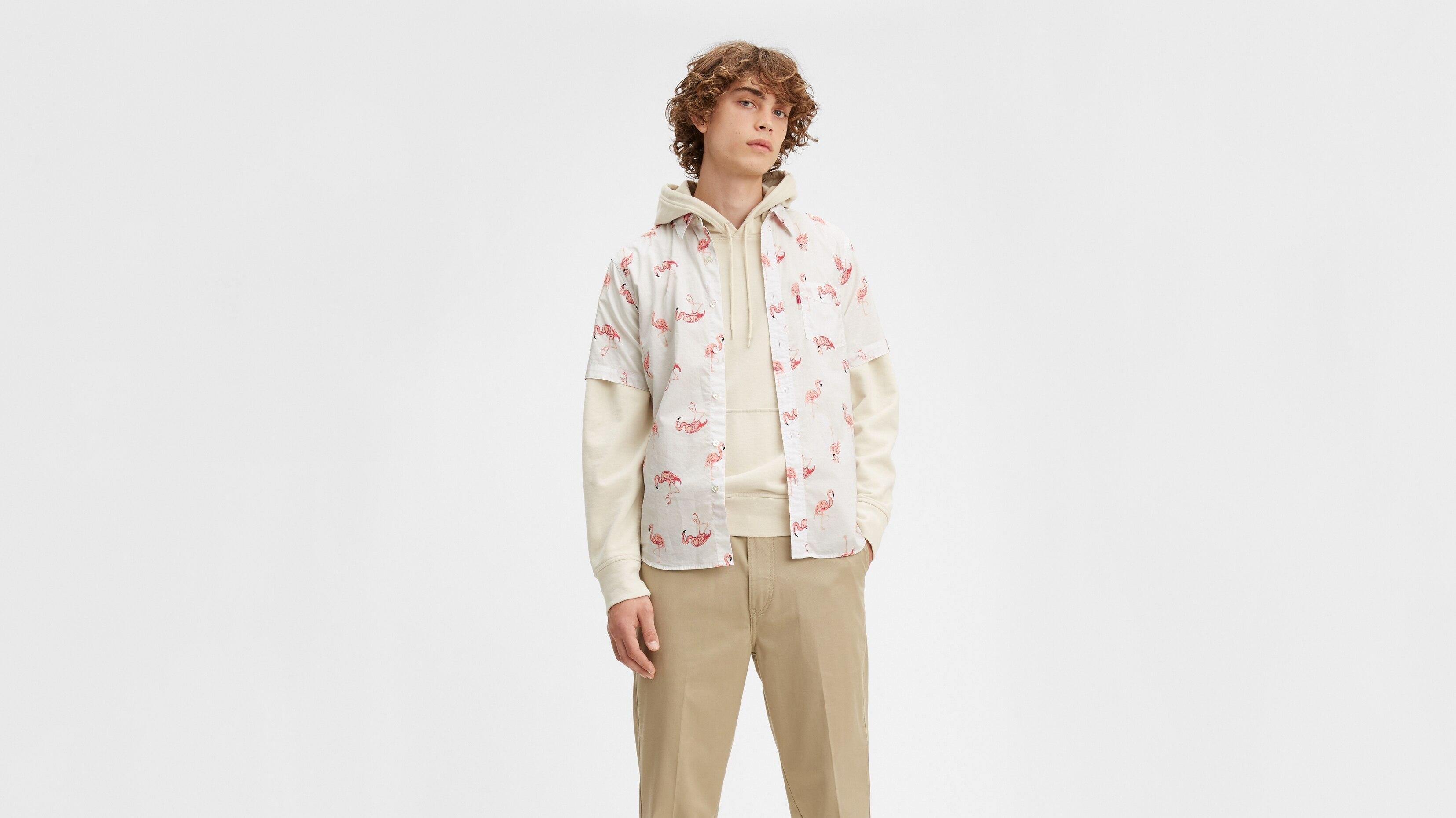 Рубашка мужская Levi's 86624-0004 белая S