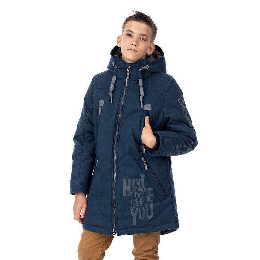 Купить Куртка утепленная Alpex, цвет: синий р.152,