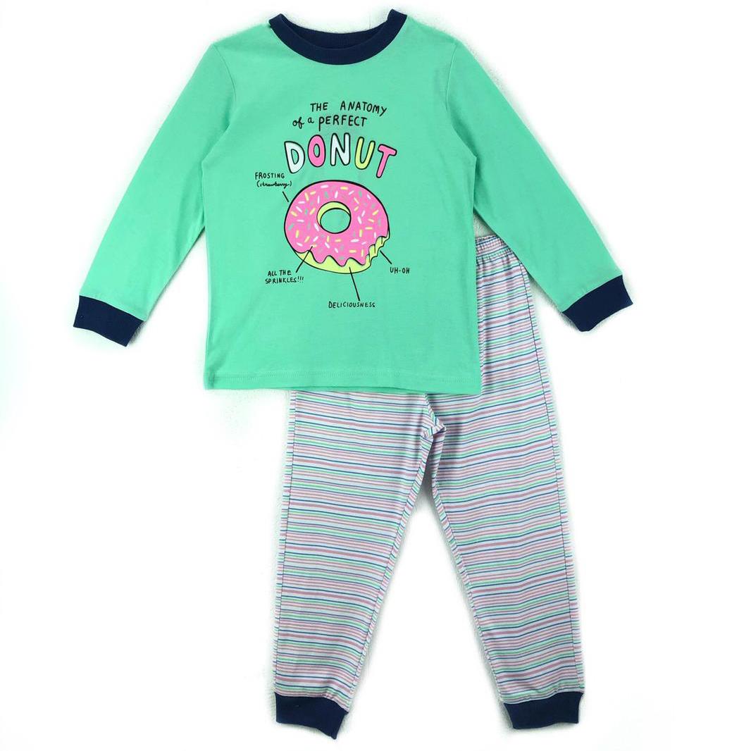 Пижама джемпер/брюки Mirdada, цвет: зеленый р.122 КД-070