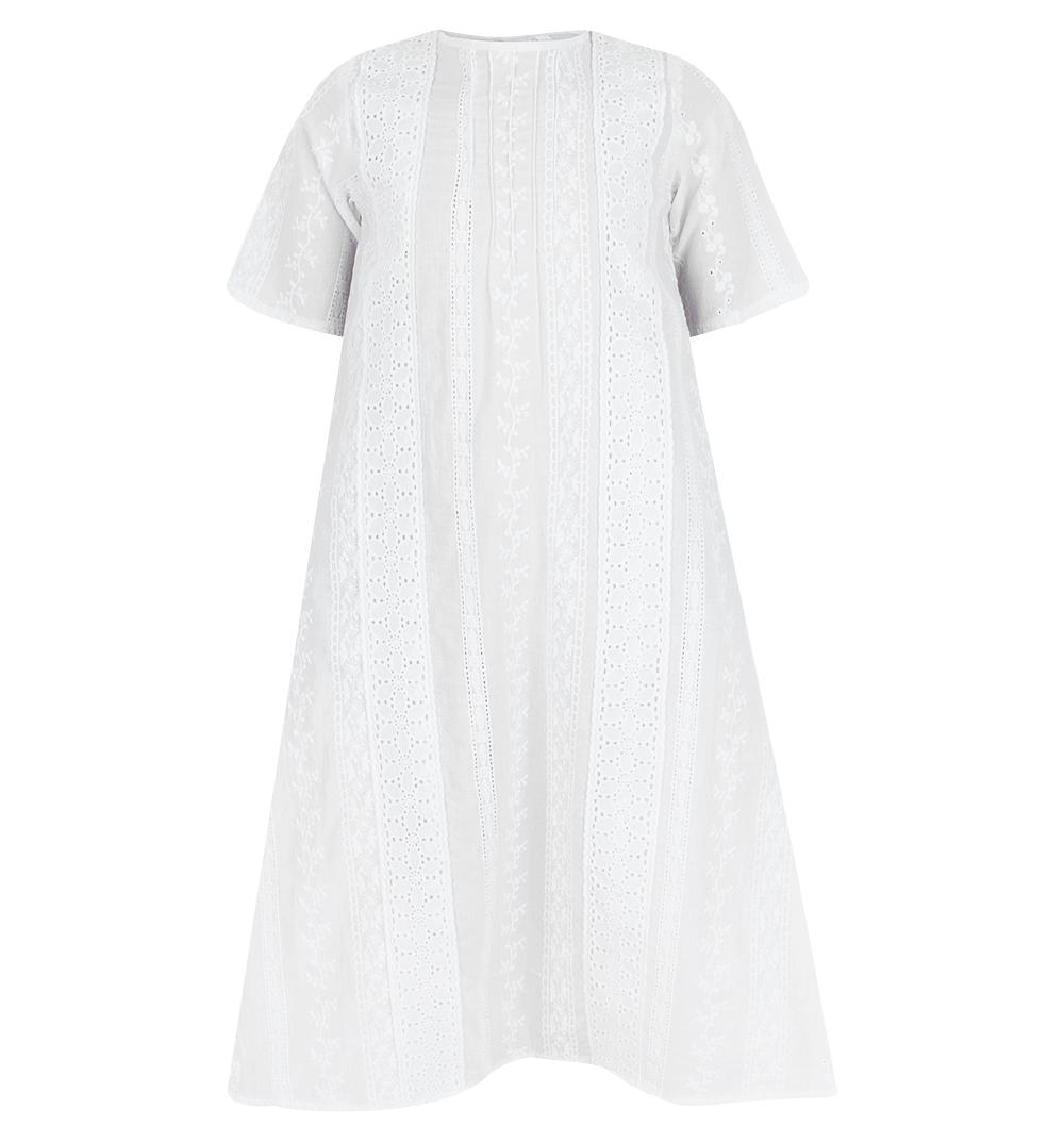 Купить Крестильная рубашка Зайка Моя, цвет: белый р.74, Зайка моя,