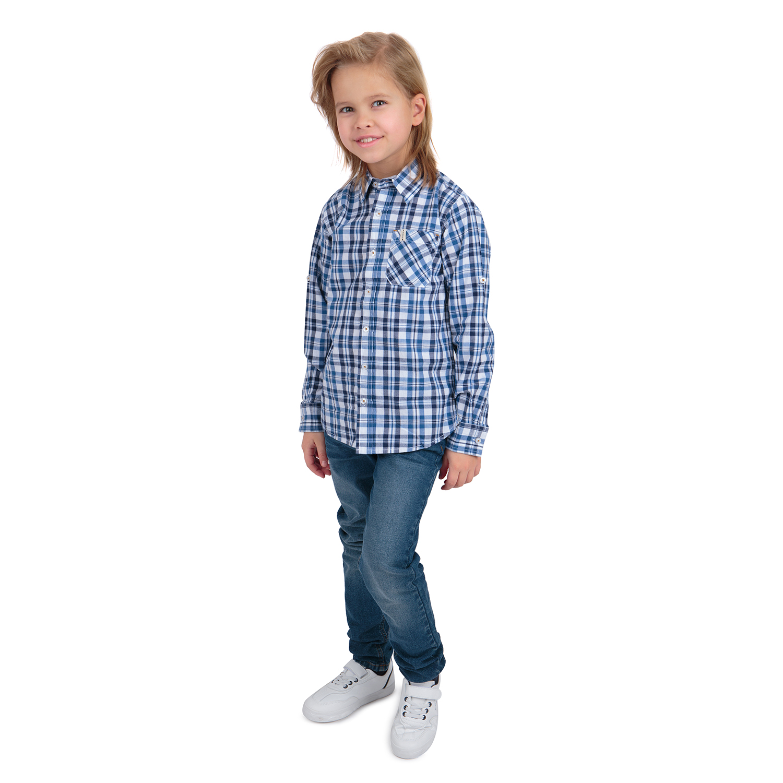 Рубашка детская Leader Kids SS20LM22L р.128