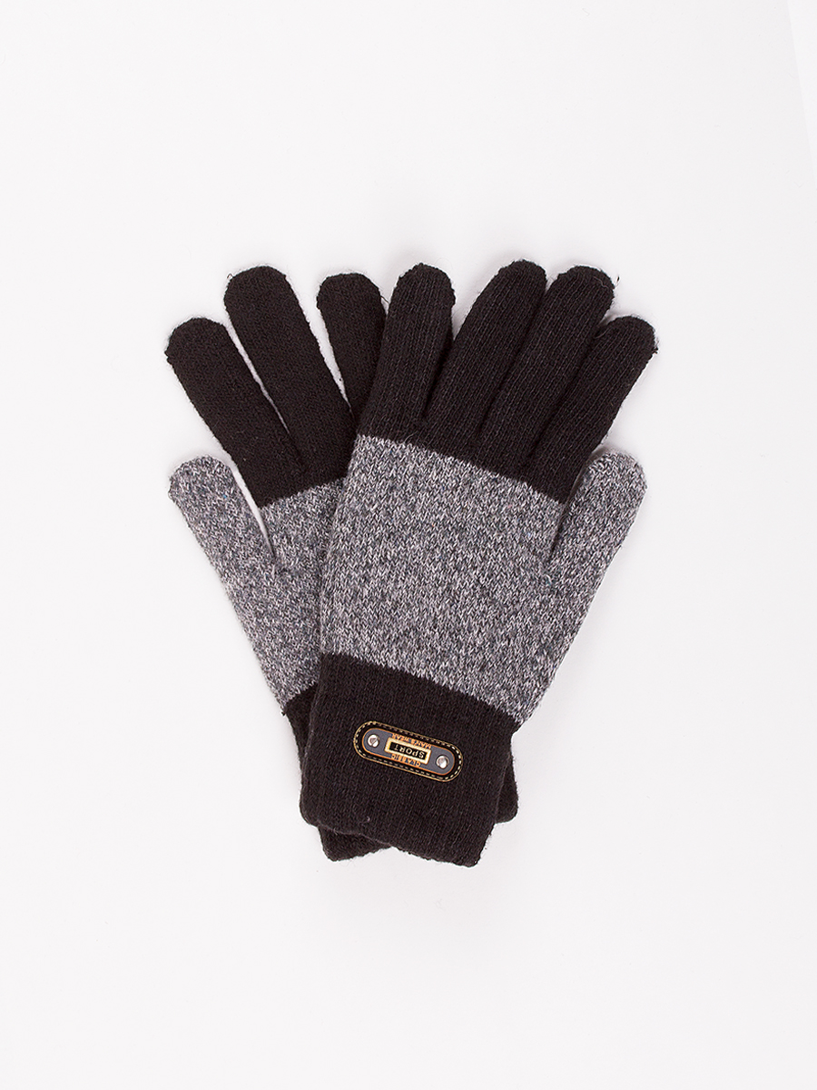 Перчатки мужские DAIROS GD71700301 черные