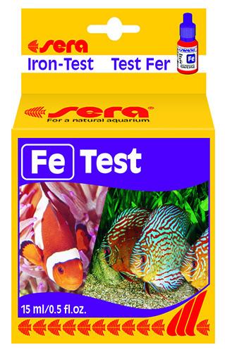 Тест для воды Sera Fe Test (железо),