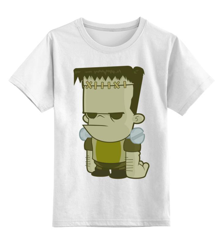 Детская футболка Printio Франкенштейн цв.белый р.152 0000003442829 по цене 790