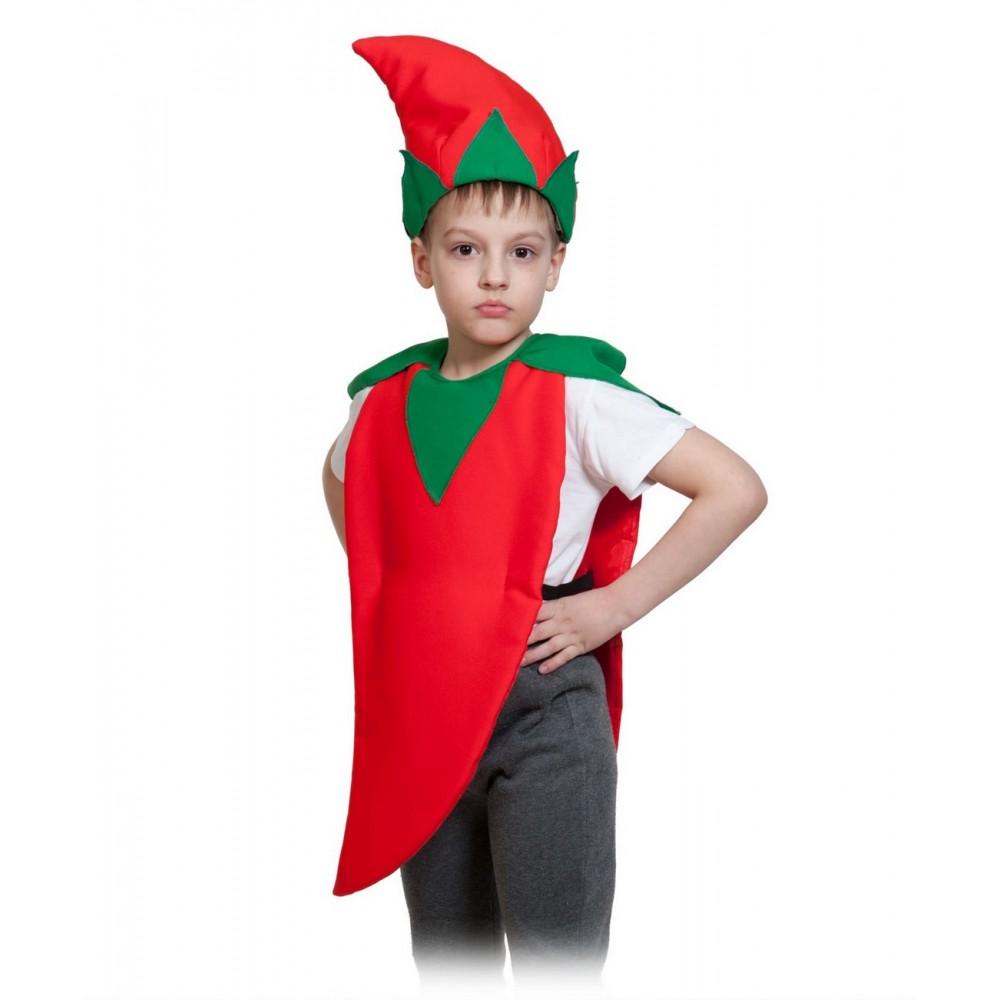 Карнавальный костюм Карнавалофф Овощ, цв. красный р.104
