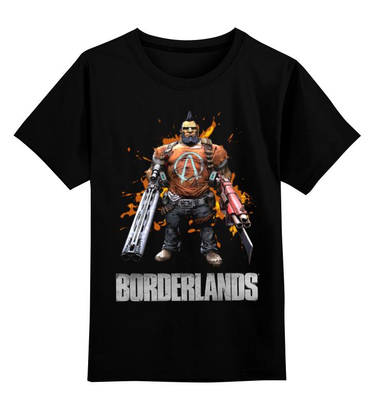 Детская футболка Printio Borderlands цв.черный р.152 0000003454234 по цене 1 190