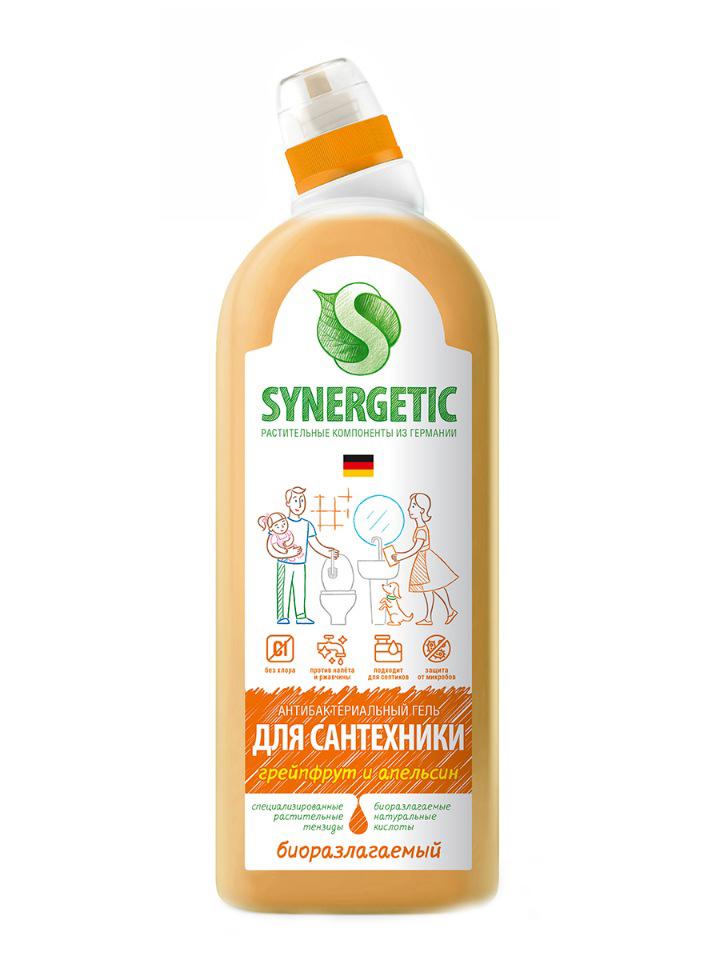 Средство для сантехники SYNERGETIC «Грейпфрут и апельсин»